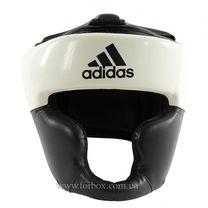 Шлем тренировочный Adidas Response (ADIBHG024-BK, бело-черный)