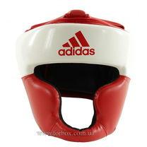 Шлем тренировочный Adidas Response Standard (ADIBHG024-RD, бело-красный)