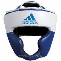 Шлем тренировочный Adidas Response (ADIBHG024-BL, бело-синий)