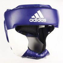 Шлем тренировочный Adidas Response (ADIBHG023-BU, сине-белый)