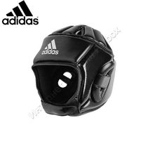 Тренировочный шлем Adidas Combat Sport (ADIBHG051, черный)