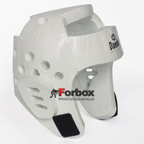 Шлем для тхэквондо Daedo из PU (BO-5925-W, белый)