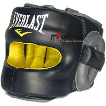 Шлем с бампером Everlast Safemax Professional Headgear (570401, черный)