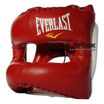 Шолом з бампером Еліт MX Headgear Everlast (310400, червоно-білий)