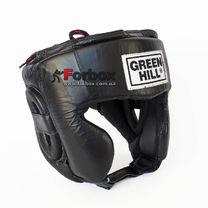 Шлем Club Green Hill кожаный (HGC-4019, черный)