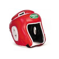Шлем турнирный Green Hill с усиленной защитой макушки (HGW-9033, красный)