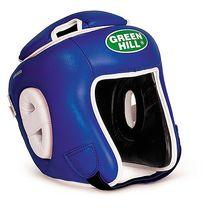 Шлем турнирный Green Hill с усиленной защитой макушки (HGW-9033, синий)