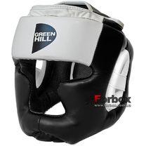 Шлем Green Hill Poise тренировочный (HGP-9015, бело-черный)