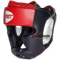 Шлем Green Hill Poise тренировочный (HGP-9015,черно-красный)