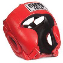 Шлем Club Green Hill кожаный (HGC-4019, красный)