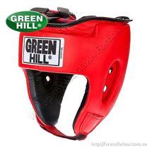 Шлем турнирный Green Hill Special кожзам (HGS-4025, красный)