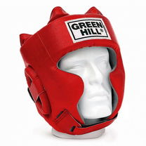 Шлем боксерский Green Hill Sparring кожзам (HGS-9409, красный)