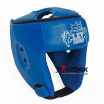 Шлем боксерский Lev sport кожзам (1312-bl, синий)