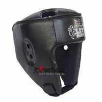 Шлем боксерский Lev sport кожзам (1312-bk черный)