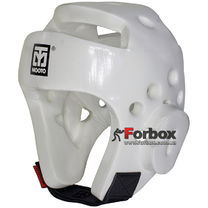 Шлем для тхэквондо Mooto из PU (BO-5094, белый)
