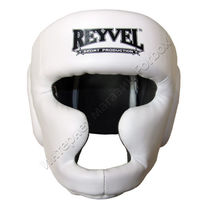 Шлем тренировочный REYVEL винил (0094-wh, белый)