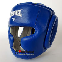 Шолом тренувальний REYVEL шкіра (0084-bl, синій)
