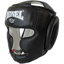Шолом тренувальний REYVEL вініл (0094-bk, чорний)