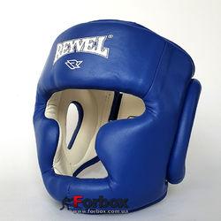 Шлем тренировочный REYVEL винил (0094-bl, синий)