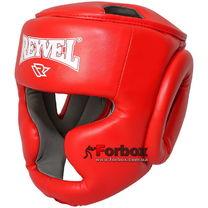 Шлем тренировочный REYVEL винил (0094-rd, красный)