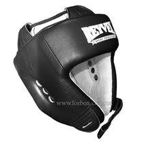 Шлем боксерский REYVEL вид 1 винил (0109-bk, черный)