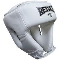 Шлем боксерский вид 2 REYVEL винил (0121-wh, белый)