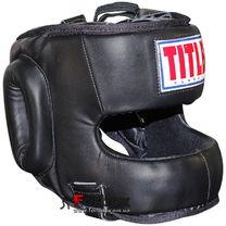 Тренировочный шлем с бампером Title Classic Face Protector (CTFP, черный)