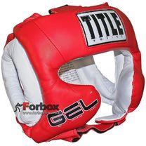 Шлем тренировочный Title Gel World Traditonal (GTTHG, красный)