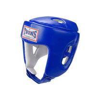 Шлем Twins открытый для соревнований кожа (HGL-4, синий)