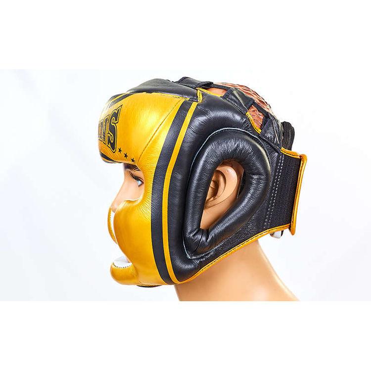 fe8706a9ac41 ... Шлем боксерский с полной защитой кожаный Twins (HGL3-TW4G-BK, ...