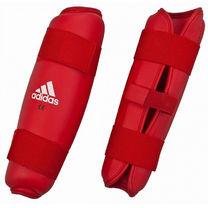 Защита голени Adidas (661.25NZ, красная)
