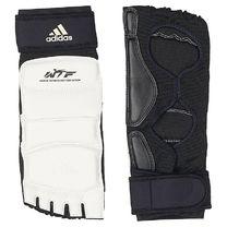 Захист гомілкостопа Adidas з ліцензією WTF (JWH2027, біла)