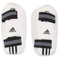 Защита голени Adidas с аккредитацией WTF для тхэквондо (JWH2010, белая)