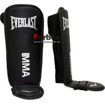 Защита голени и стопы Everlast MMA (7950, черная)