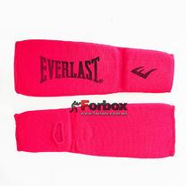 Защита голени и стопы чулочного типа Everlast тканевая (MA-8136-P, розовый)