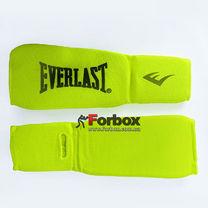 Защита голени и стопы чулочного типа Everlast тканевая (MA-8136-Y, желтый)