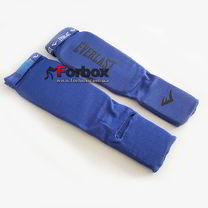 УЦЕНКА Защита голени и стопы Everlast MA-4613 синяя повреждение ткани