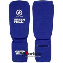 Защита голени и стопы Green Hill тканевая (SIC-6131, синяя)