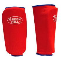 Защита голени Green Hill тканевая (SPC-6210, красная)