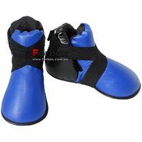Футы (киксы) защита подъема стопы Lev кожзам (1948-bl, синие)