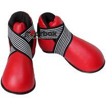 Футы (киксы) защита подъема стопы Lev кожзам (1948-rd, красные)