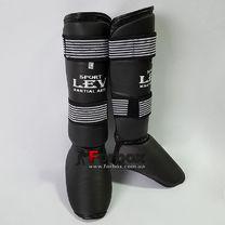 Защита голени и стопы цельная Lev (1354-bk, черная)