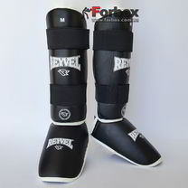 Защита голени и стопы винил REYVEL (0142-bk, черная)
