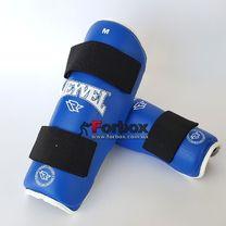 Защита голени REYVEL (0150-bl, синяя)