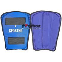 Захист гомілки Sportko (332, синій)