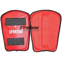 Захист гомілки Sportko (332, червоний)