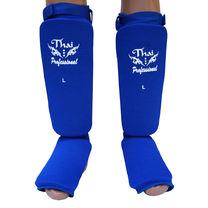 Защита голени и стопы Thai Professional чулки (TPSG5, синие)