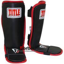 Защита голени и стопы Title Classic MMA Guards (CMMCSIG, черная)
