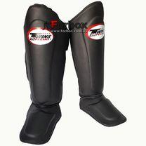Защита голени и стопы Twins усиленная (SGMC-10-BK, черный)