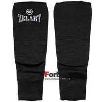 Защита голени и стопы Zelart тканевая носок (MA-1912, черная)